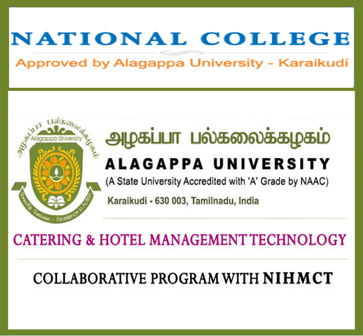National Institute Of Hotel Management And Catering Technology