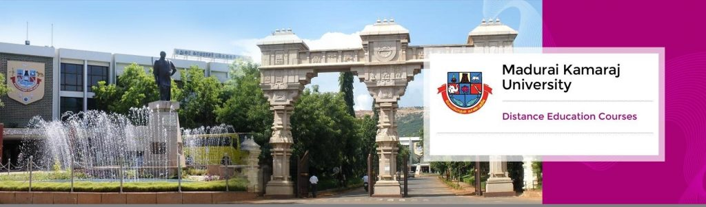Madurai Kamaraj University Distance Education