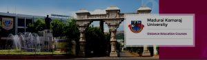 madurai kamaraj university distance education